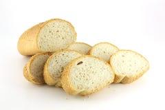 Отрежьте часть хлеба Стоковые Фото