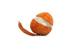 Отрежьте lychee Стоковые Изображения RF