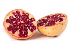 отрежьте pomegranate 2 Стоковые Фотографии RF