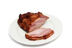 отрежьте schnitzel Стоковые Фото