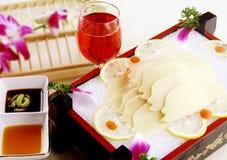 отрезанная еда фарфора abalone вкусная Стоковые Фото