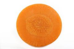 отрезанная свежая моркови Стоковые Фотографии RF