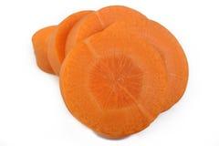 отрезанная свежая моркови Стоковое Изображение RF