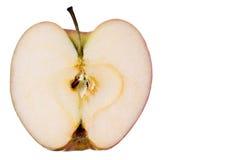 отрезанная свежая яблока Стоковое Фото