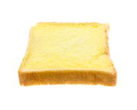 Отрезанное масло хлеба Стоковая Фотография RF
