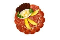 отрезанное мясо Стоковое фото RF