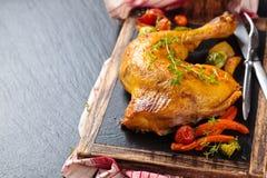 отрезанное сырцовое цыпленка Стоковые Фото