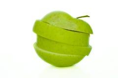 отрезанное яблоко Стоковое Изображение RF