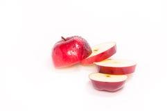 Отрезанное яблоко стоковые фото