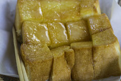 Отрезанное pice хлеба Стоковое Фото