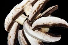 отрезанные грибы Стоковая Фотография