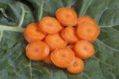 отрезанные моркови Стоковое Изображение RF