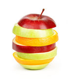 отрезанные свежие фрукты стоковое фото rf