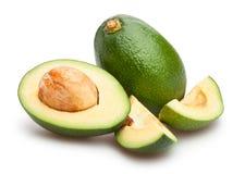 отрезанный авокадо Стоковое Изображение RF