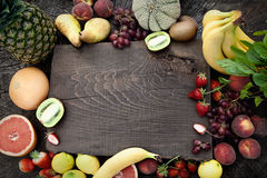 отрезанный ананас плодоовощ отрезока предпосылки половинный Стоковые Изображения RF