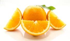 Отрезанный апельсин Стоковое фото RF