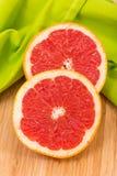 отрезанный грейпфрут Стоковое Изображение RF