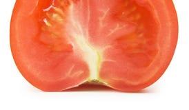 Отрезанный изолированный томат Стоковое Изображение RF