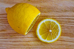 отрезанный лимон Стоковое Фото