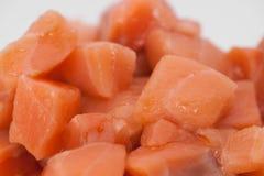 Отрезанный крупный план сырого мяса Стоковые Фото
