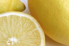 отрезанный лимон Стоковые Изображения