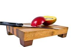 отрезанный манго Стоковое фото RF
