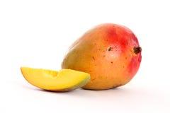отрезанный манго Стоковое Изображение RF