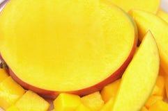 Отрезанный манго Стоковая Фотография