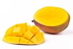 Отрезанный манго Стоковое Изображение