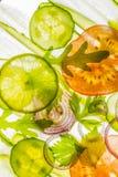 Отрезанный овощ Стоковое фото RF