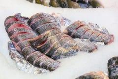 отрезанный?? рыбы Стоковое Изображение RF