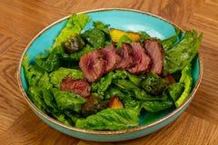отрезанный салат стейка стоковые изображения