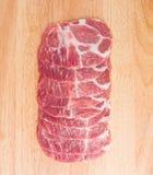 Отрезанный свинина Стоковая Фотография RF
