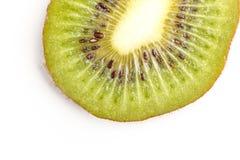 Отрезанный сочный плодоовощ кивиа над взглядом стоковое фото