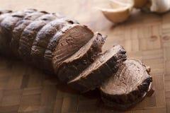 Отрезанный сочный TeNderloin говядины Стоковые Фото