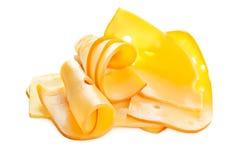 отрезанный сыр стоковое изображение