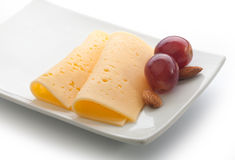 Отрезанный сыр Стоковые Фото