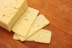 Отрезанный сыр Стоковое фото RF