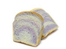 Отрезанный таро конец хлеба вверх на белой предпосылке Стоковые Изображения RF