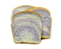 Отрезанный таро конец хлеба вверх на белой предпосылке Стоковое Изображение