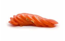 Отрезанный томат Стоковое Изображение RF