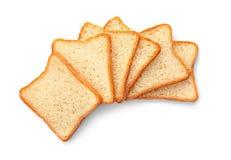 Отрезанный хлеб здравицы Стоковое фото RF