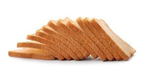 Отрезанный хлеб здравицы Стоковые Фотографии RF