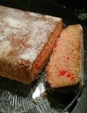 Отрезанный хлеб вишни Стоковая Фотография RF