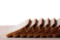 отрезанный хлеб доски Стоковое Изображение RF