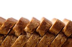 отрезанный хлеб доски Стоковое фото RF