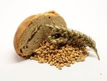Отрезанный хлеб с зерном стоковая фотография rf