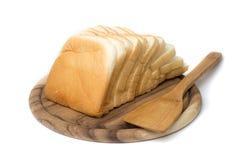 отрезанный хлеб Стоковые Изображения