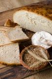 отрезанный хлеб Стоковое Изображение