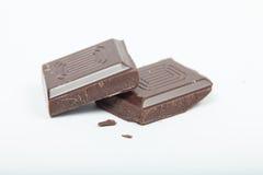 Отрезанный шоколад Стоковая Фотография RF